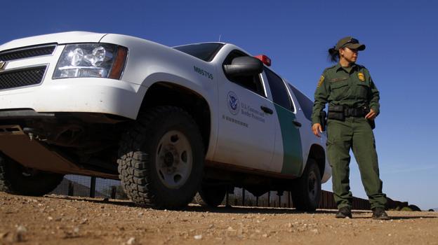 A U.S. Border Patrol Agent in September 2011, along the Mexico-Arizona border. (Reuters /Landov)