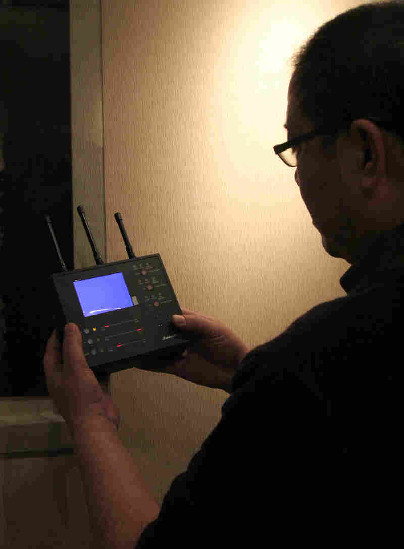 Qi Hong, a former journalist, says he has helped more than a hundred friends find more than 300 surveillance devices, including audio bugs and hidden cameras.