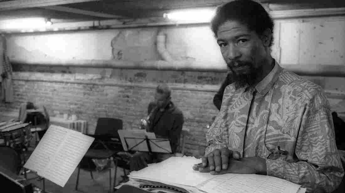 Butch Morris in Amsterdam in 1986.