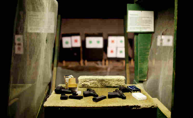 The all-female league was established by female shooters to educate women about firearm usage and safety, and encourage participation in competitive shooting activities.