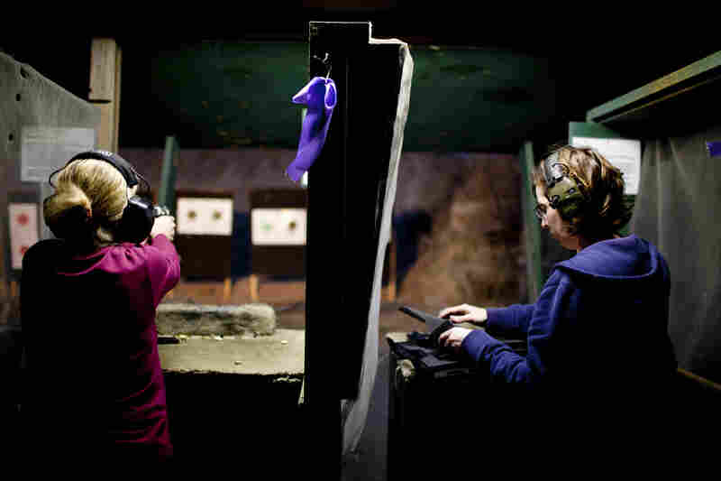 """""""Several ranges are starting their own leagues, hosting practice nights, and with that comes structure,"""" says Julianna Crowder, a firearms instructo"""