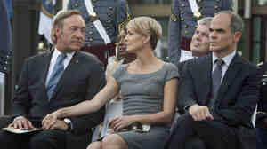 Kevin Spacey and Robin Wright star in the new Netflix original series House of