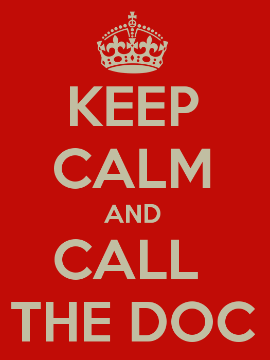 """The British have long said, """"Keep calm and carry on."""" But the catchphrase may need an update for health care."""