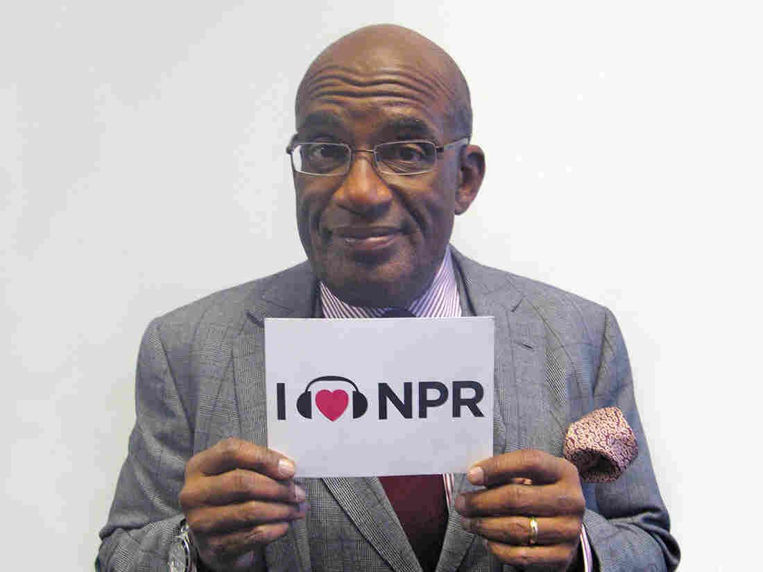 Al Roker at NPR New York.