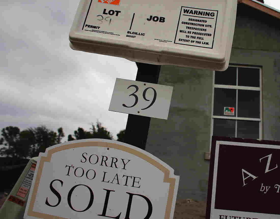 A sign of the times in Boca Raton, Fla. (November 2012 file photo.)
