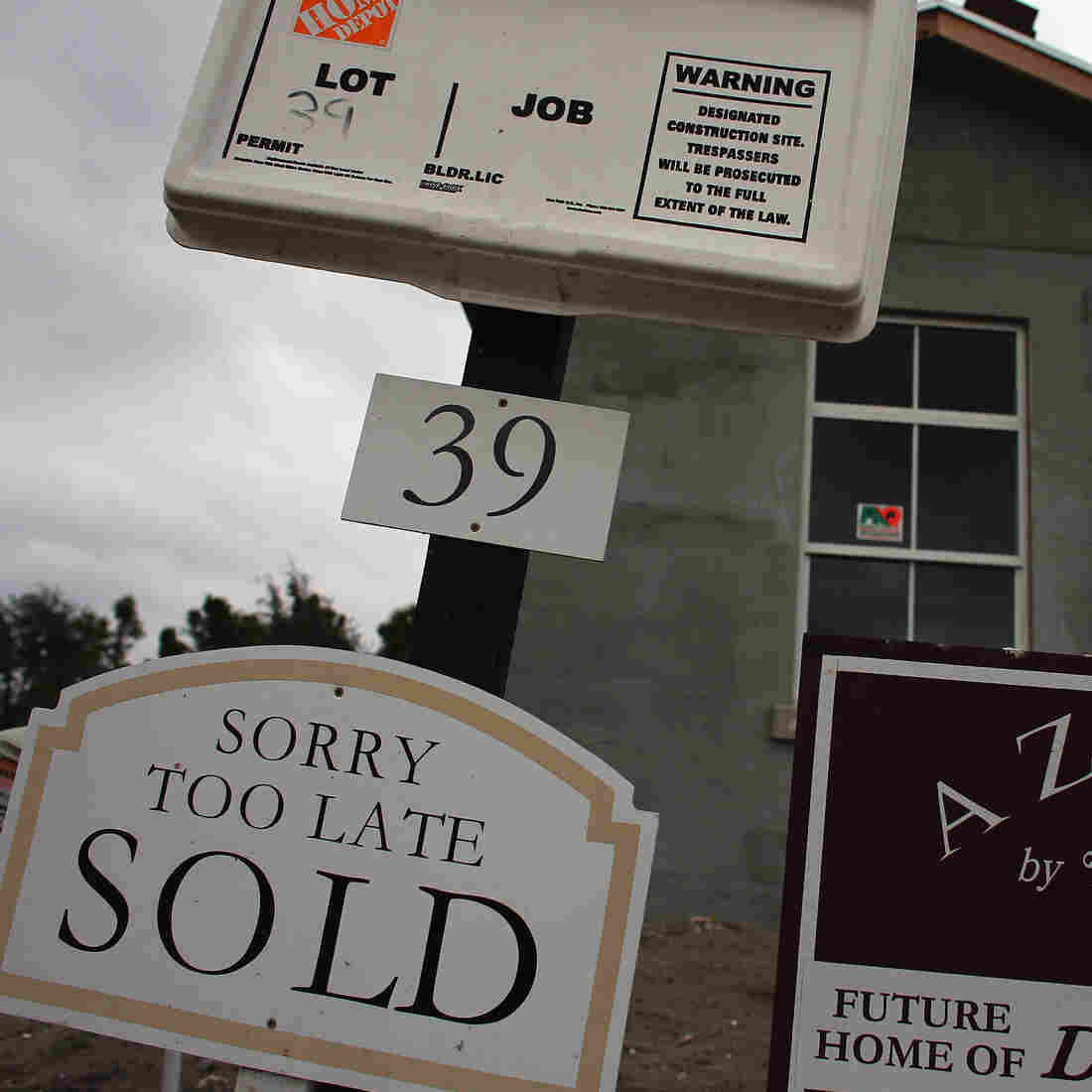 Home Prices Continue To Rise; Housing Is Now Economic 'Bright Spot'