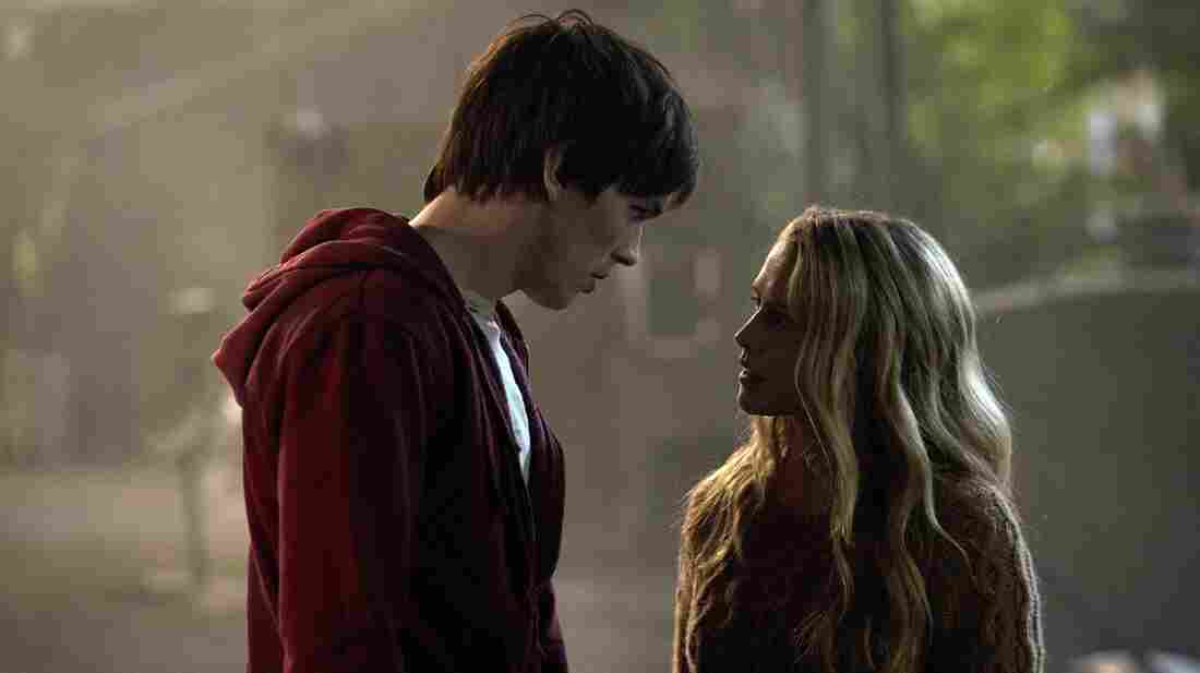 In the Romeo and Juliet-inspired Warm Bodies, a zombie known only as R (Nicholas Hoult) falls in love with Julie (Teresa Palmer), who's still human.