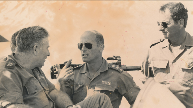 The documentary The Gatekeepers examines Israeli security policy in interviews with six former heads of the secretive  Shin Bet agency. (Sony Pictures Classics)