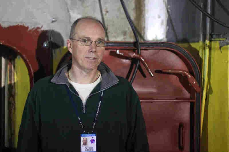 Bellevue chief engineer Patrick O'Brien says flooding damaged pump motors, despite a heavy door designed to protect them.