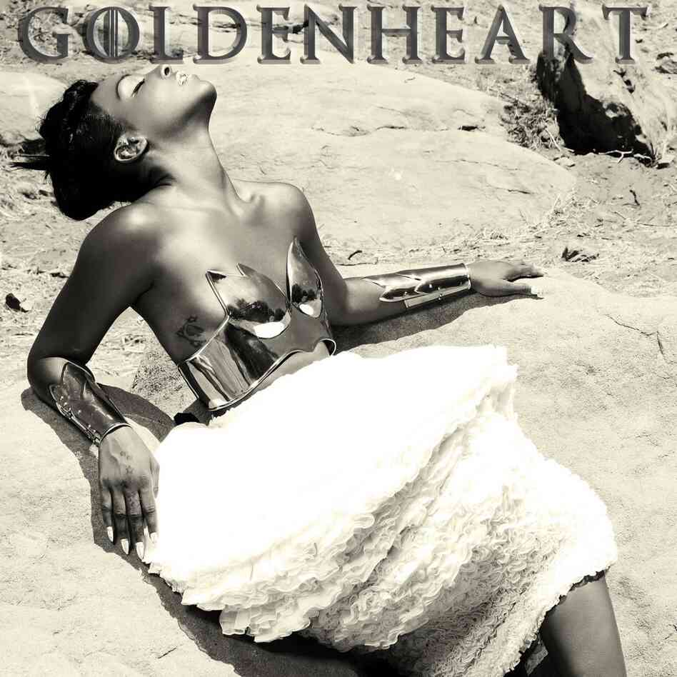 The cover of Dawn Richard's Goldenheart.