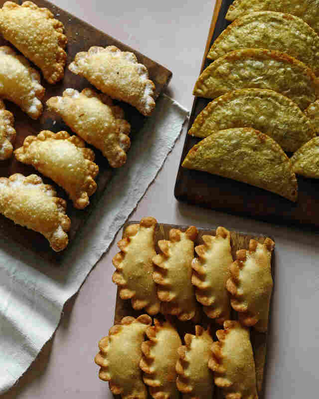For chef and restaurateur Jose Garces, watching football on television as a boy also meant snacking on his mother's homemade empanadas.