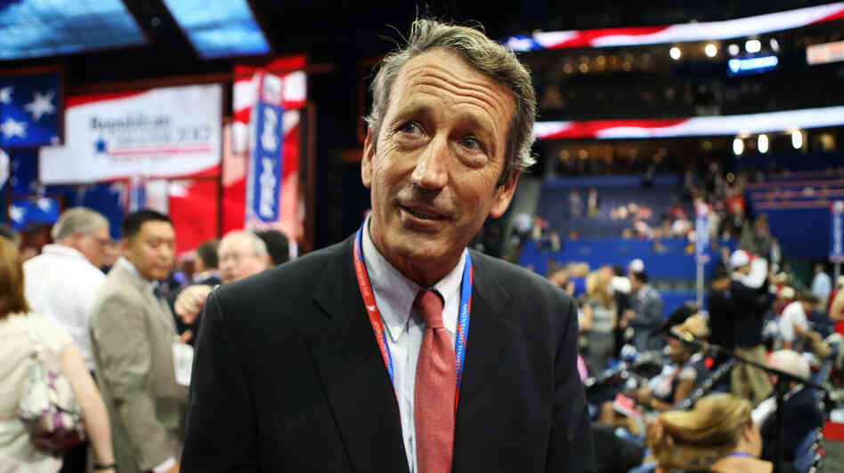 Mark Sanford, seen at the GOP convention last summer in Tampa, Fla., saw his career as South Carolina's governor implode in 2009 when he admitted to an extramarital affair.