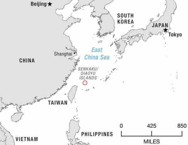 The Senkaku Islands, as they are called in Japan, sit in a strategic location between Okinawa and Taiwan.