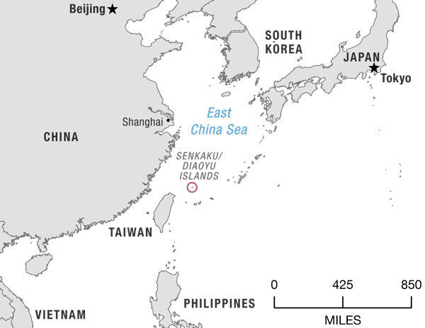 The Role For The U.S. In The East China Sea Dispute : NPR