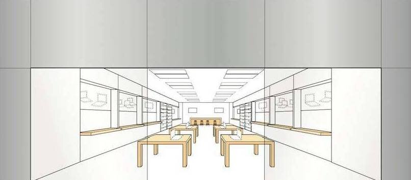 Store Design Drawing