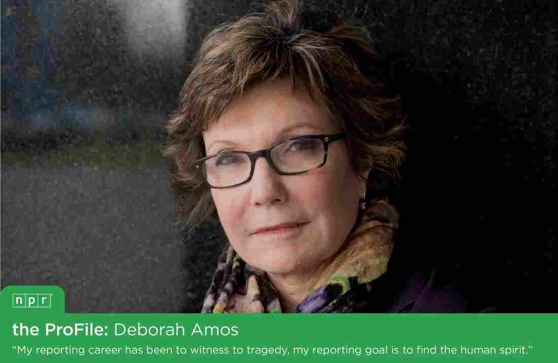 NPR Middle East Correspondent Deborah Amos.