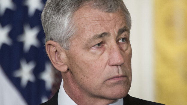 Former Sen. Chuck Hagel, R-Neb., who has been nominated to be the next secretary of defense. (AFP/Getty Images)