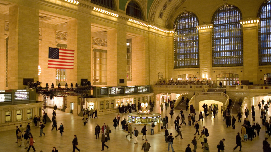 """All you have to do is walk in or stand on the balcony and watch people move, and you'll recognize the genius of the people who built Grand Central,"" says Metro-North President Howard Permut. (MTA/Metro-North Railroad)"