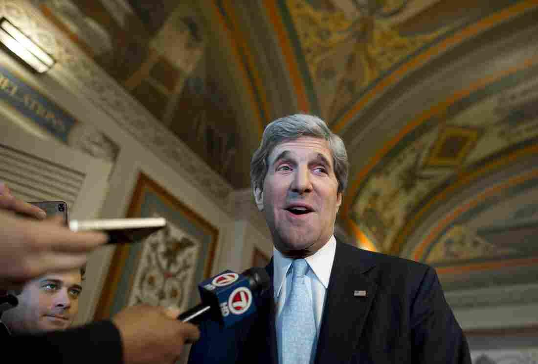 The next Secretary of State John Kerry.