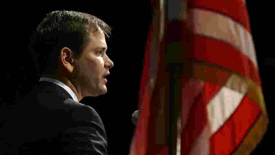 Sen. Marco Rubio, R-Fla, is among a bipartisan group of eight senators who this week announced a plan to overhaul the nation's immigration laws.