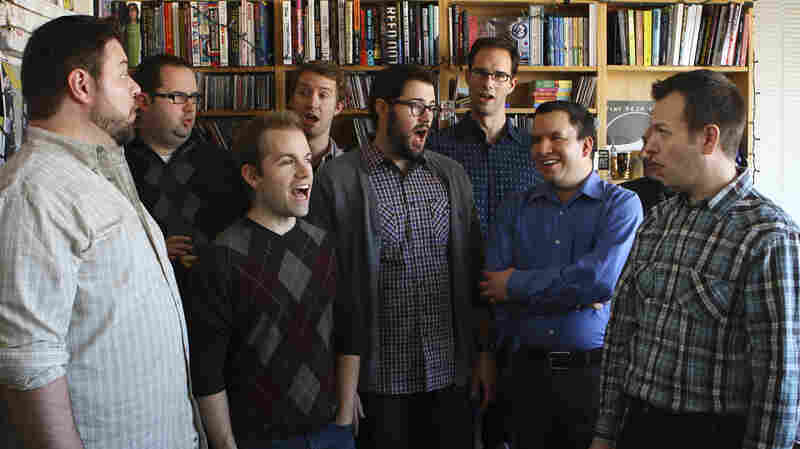 Cantus performs a Tiny Desk Concert on Dec. 3, 2012.