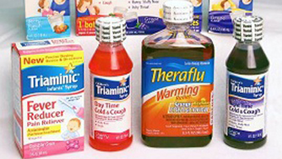 Triaminic syrups and Theraflu Warming Relief syrups have been recalled by manufacturer Novartis. (Courtesy of the U.S. Consumer Product Safety Commission)