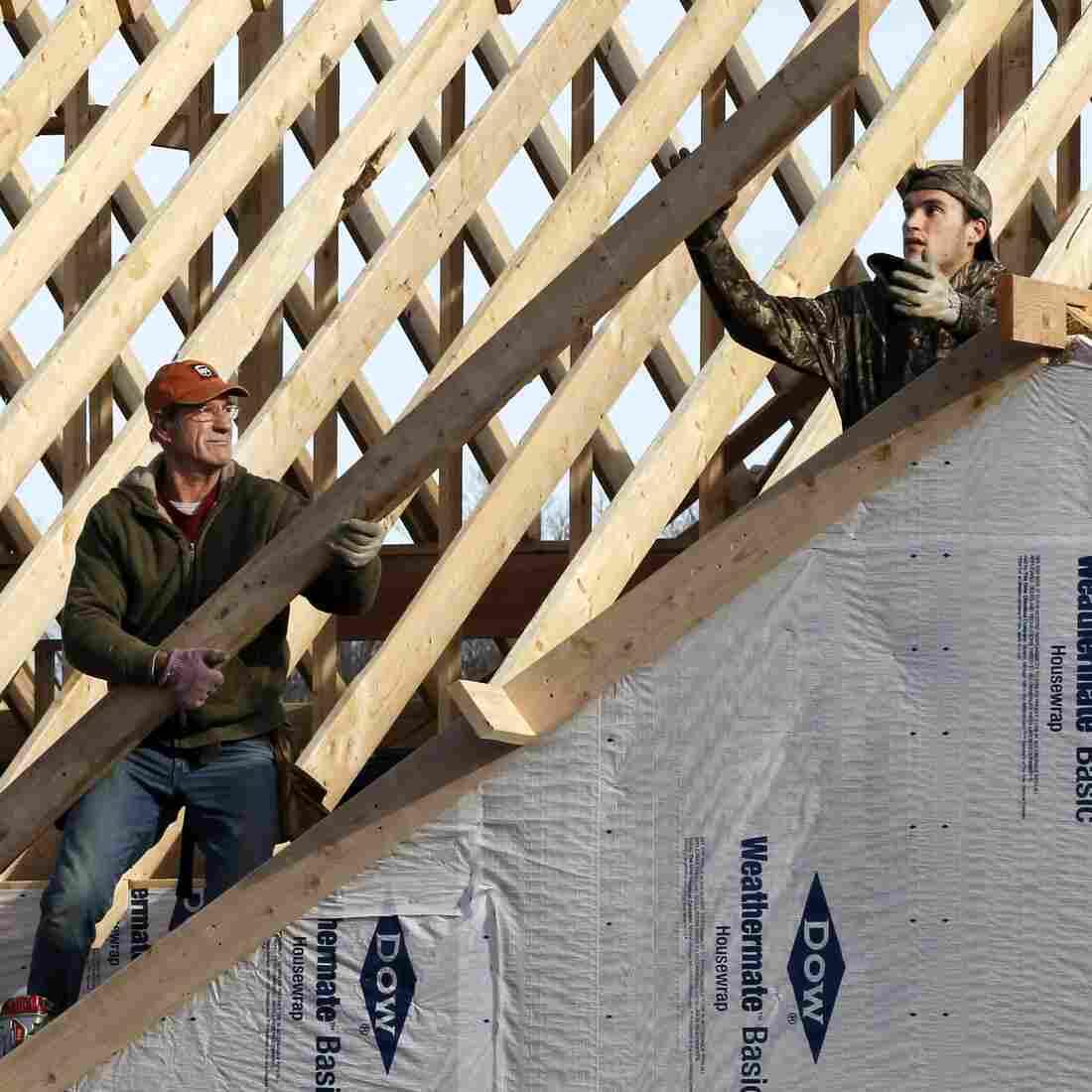 Jobs Still Lag, But Homebuilding May Soon Help