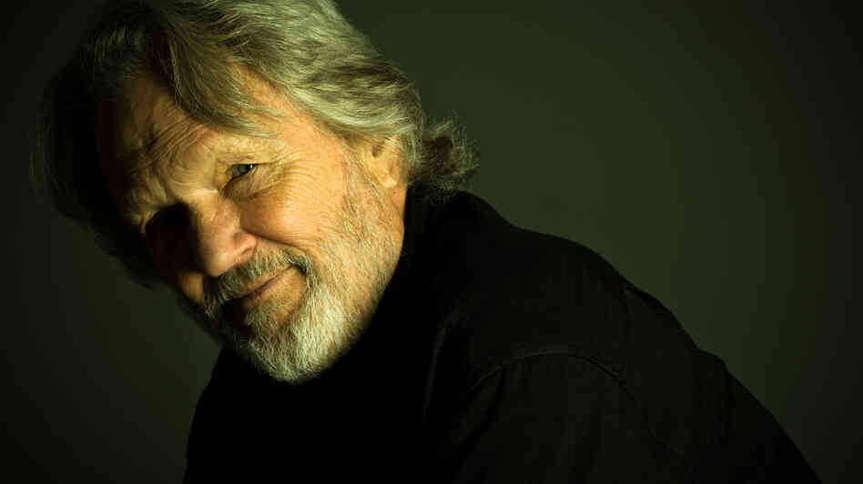 At age 76, musician Kris Kristofferson is still writing songs. His new album is called Feeling Mor