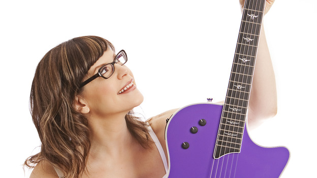 Lisa Loeb's newest album is called No Fairy Tale. (Courtesy of the artist)