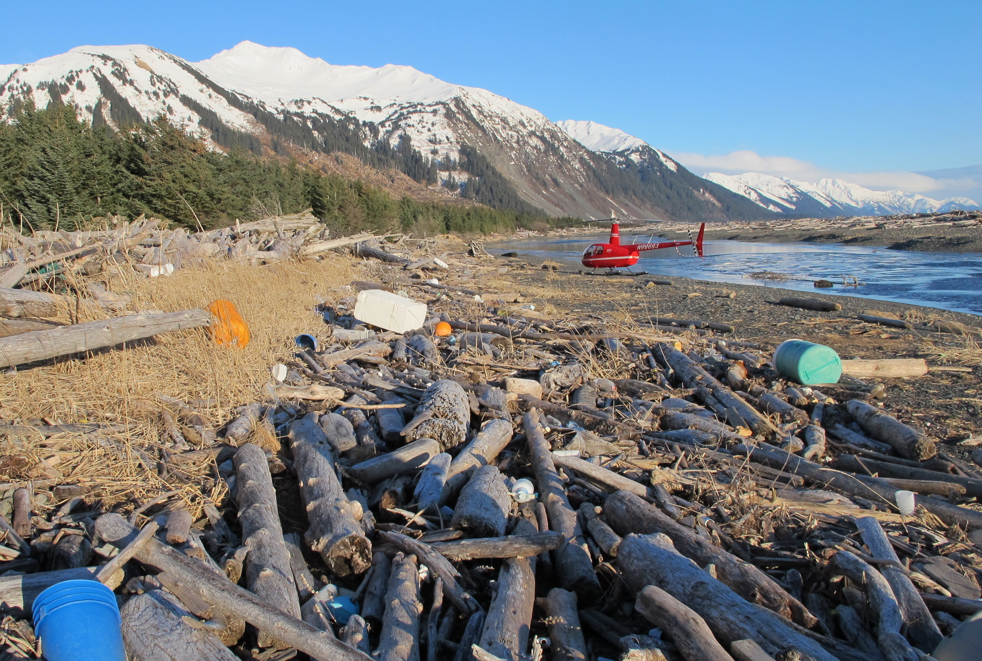 tsunami debris on alaska s shores like standing in