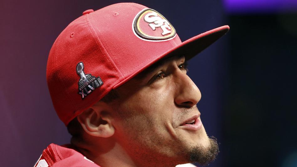 San Francisco 49ers quarterback Colin Kaepernick. (Reuters /Landov)