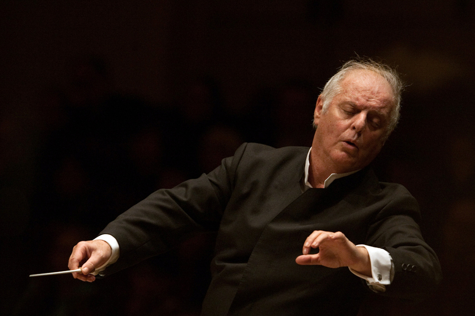 Daniel Barenboim conducts the West-Eastern Divan Orchestra in Beethoven's Symphony No. 2 live at Carnegie Hall on February 3, 2013.