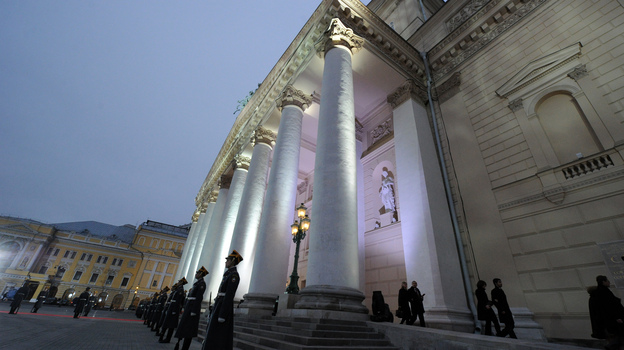 Sergei Filin, artistic director of the Moscow Bolshoi Theatre's Bolshoi Ballet, was nearly blinded by an attacker on Jan. 17. (AFP/Getty Images)