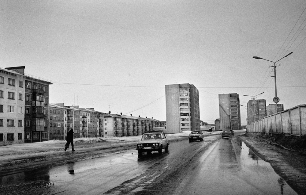 The city of Vorkuta is surrounded by several coal mines that have been abandoned since the '80s.