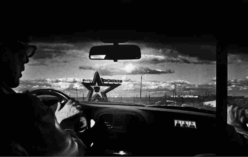 Alexander Yasnov, driving through what is known as Vorkuta ring road, which connects all the villages and coal mines surrounding the main capital.