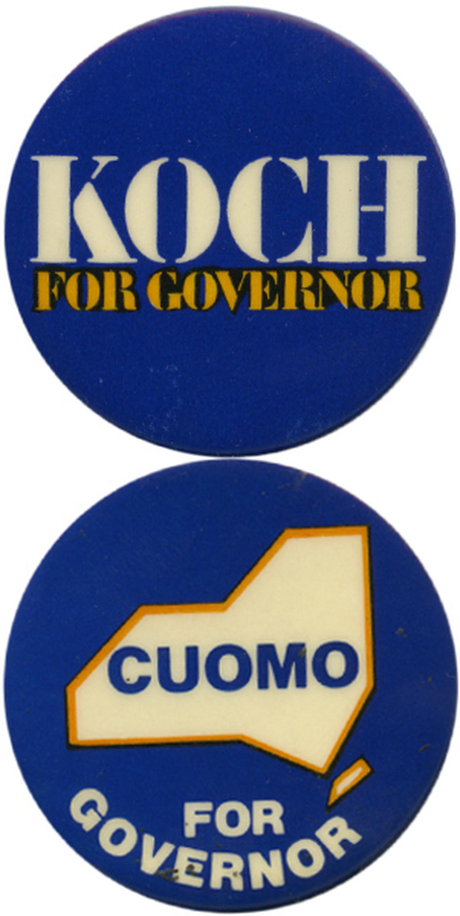 Koch's big mistake: seeking the governorship in 1982. (Ken Rudin collection )