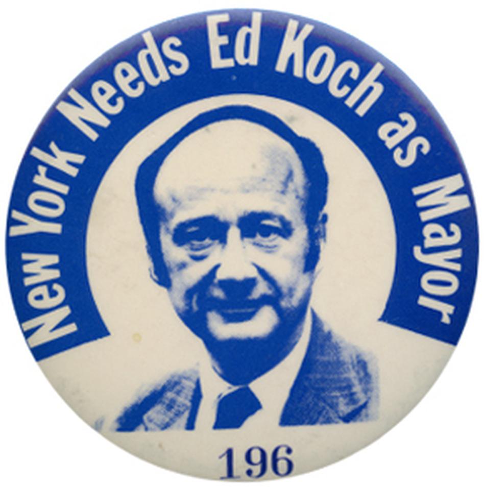 R.I.P. Edward Koch, 1924-2013 (Ken Rudin collection )