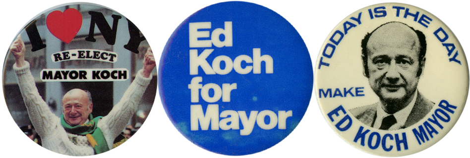 Koch served as mayor for three terms (1978-89).