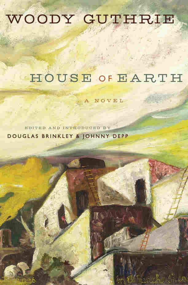 The cover of House of Earth is an oil painting that Guthrie made in 1936 called In El Ran
