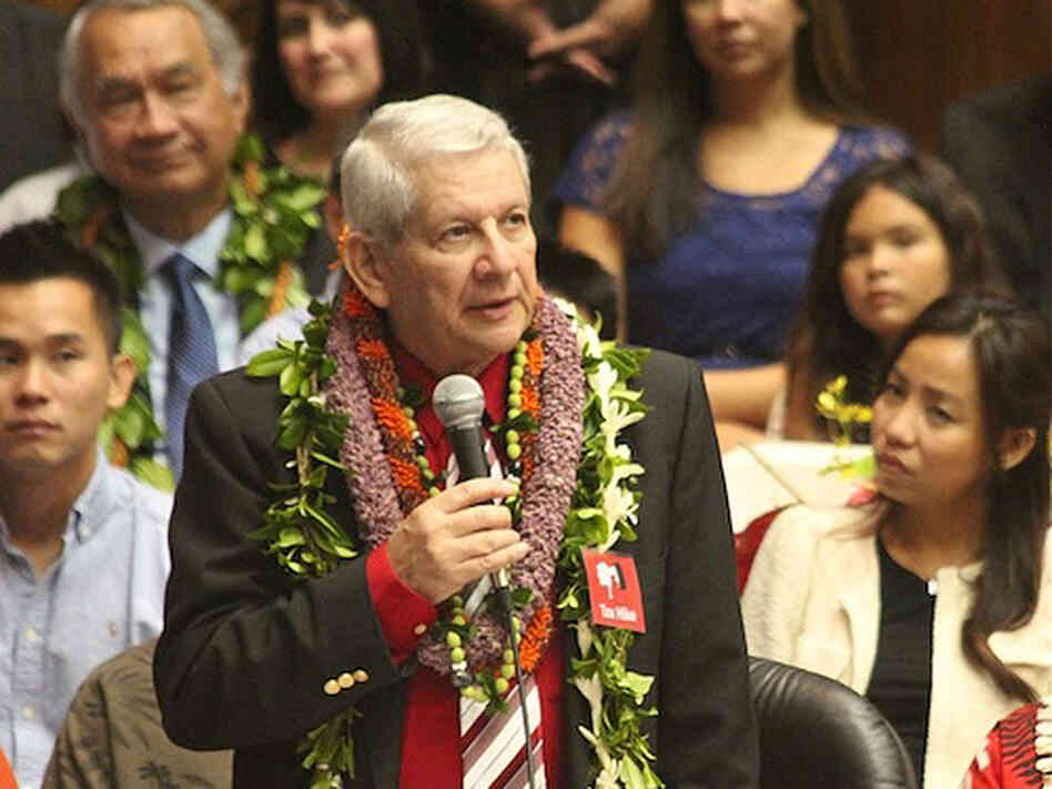 Sam Slom, Hawaii's lone Republican senator, says he got condolence and sympathy calls following the 2010 election.