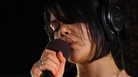 "Watch autoharp-wielding singer Natasha Khan perform ""Lilies"" live at WFUV's studios in New York."
