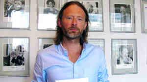 Thom Yorke at NPR's New York Bureau.
