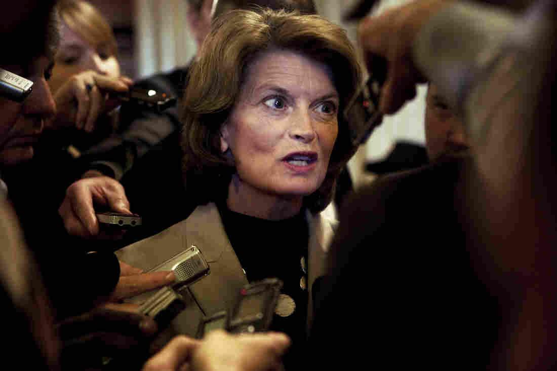 Sen. Lisa Murkowski, of Alaska, told USA Today she owned a dozen guns.