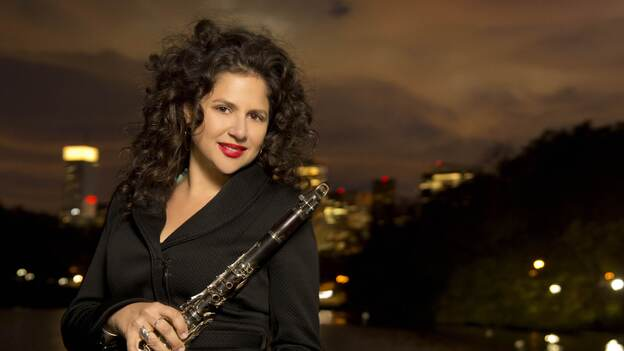 Jazz clarinetist Anat Cohen has a new album out called Claroscuro. (Anzic Records)