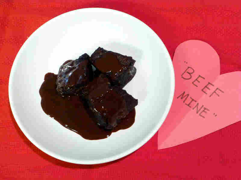 Chocolate- And Red Wine-Braised Short Ribs