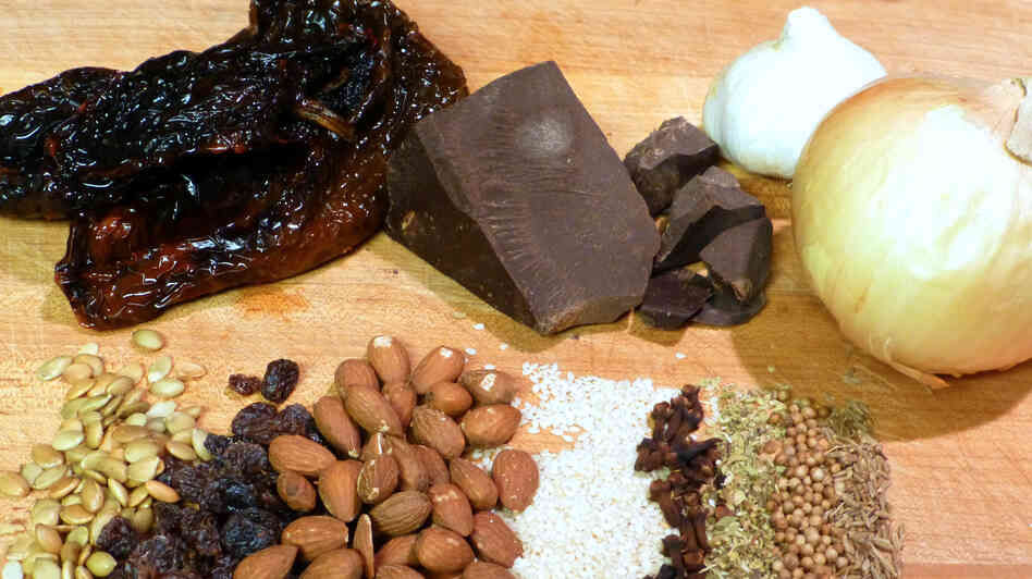 Mole is a complex sauce that marries chocolate with chilies, onion, garlic, spices, nuts and seeds and dried fruits. But it's just one of many ways to break chocolate out of the candy box.