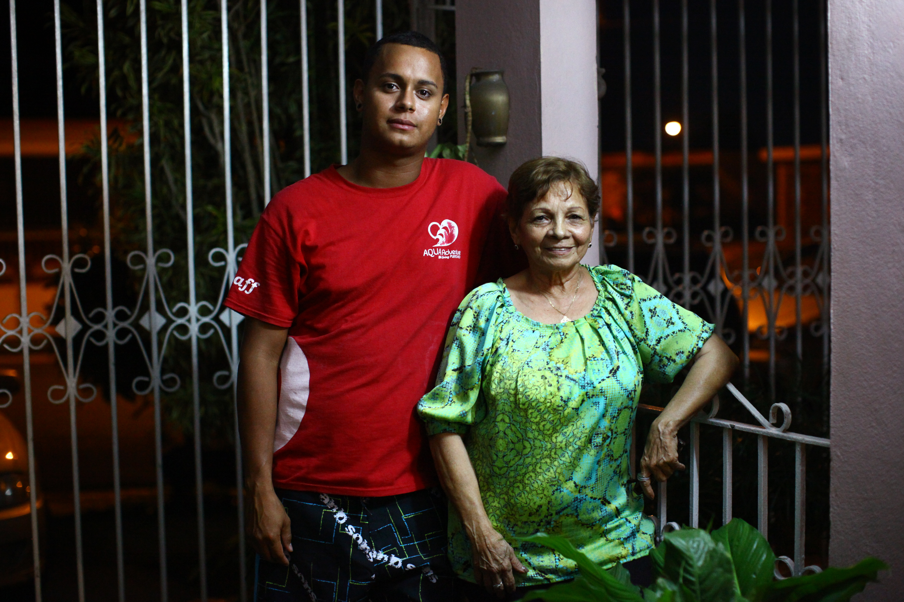 Bonet and Camacho say they prefer their life on the island to life on the mainland.