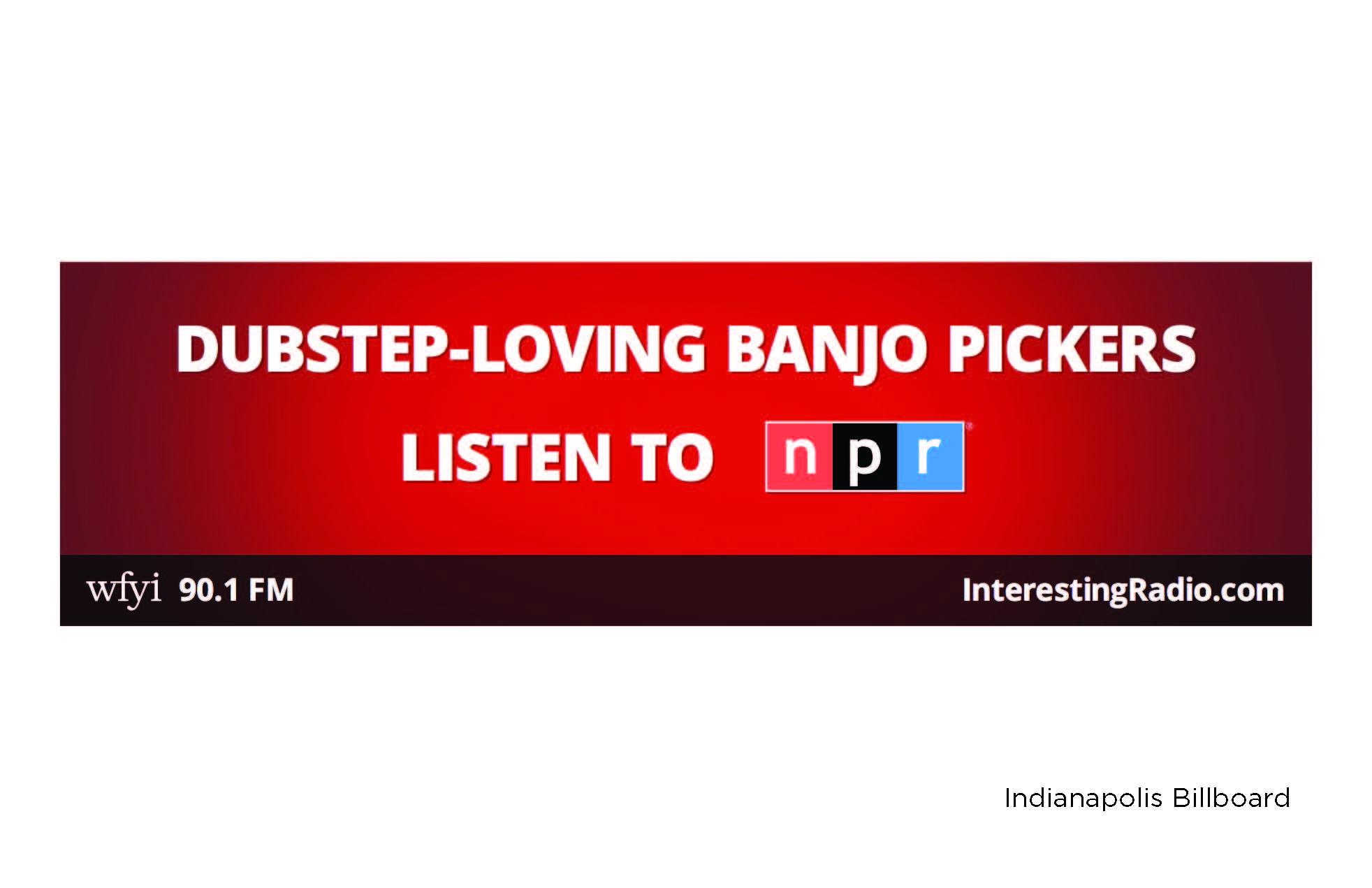 WFYI 90.1 FM Indianapolis Billboard