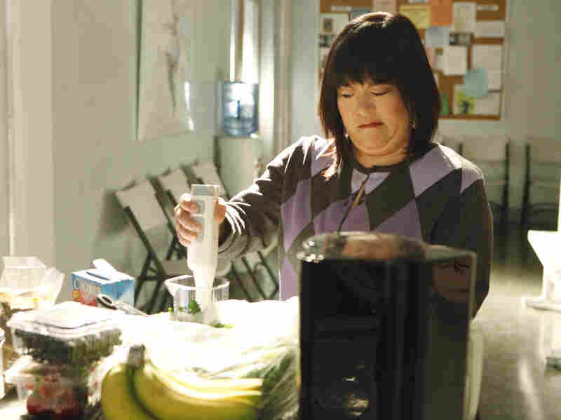 On NBC's Smash, returning for a second season, Harada plays the much-put-upon stage manager Linda, charged with keeping the chaos at the show-within-a-show more or less under control.