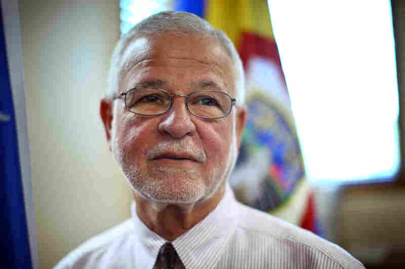 Hector Pesquera, the police superintendent for the island, says tackling crime has been challenging.